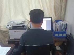 湖南警察谢军 一个不平凡的背影