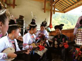 世界非遗侗族大歌——行歌坐月侗族人的无字情书