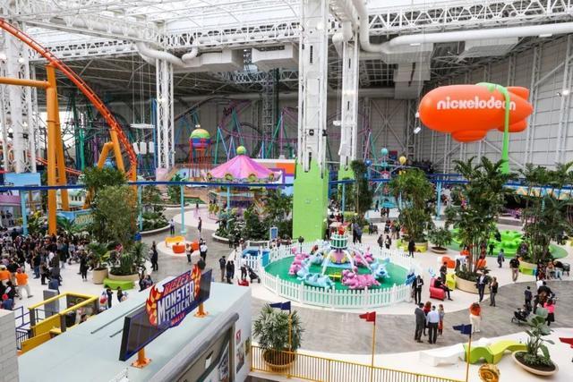 造价350亿的超级游乐场购物中心