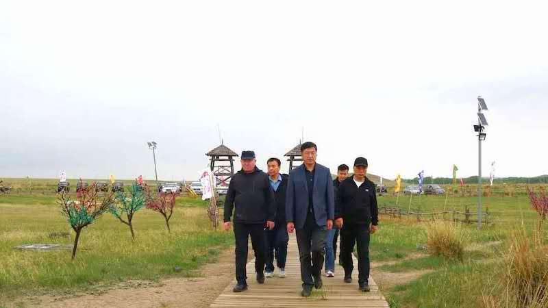 正蓝旗委书记孙振江:发展乡村旅游和现代农牧业促进富民增收