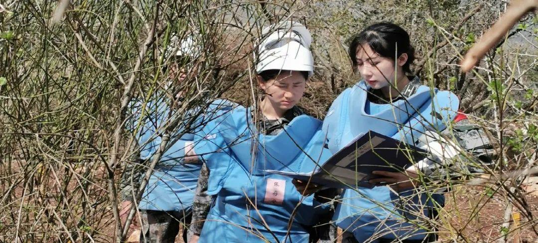 中国维和女军人受联合国表彰