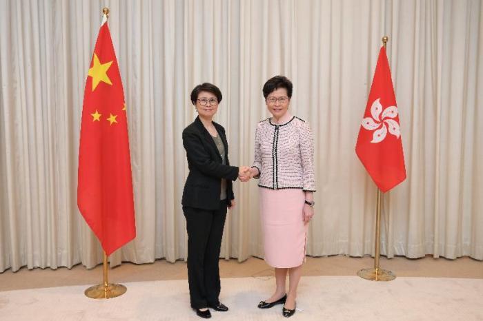 林郑月娥任命刘赐蕙任警务处维护国家安全部门负责人