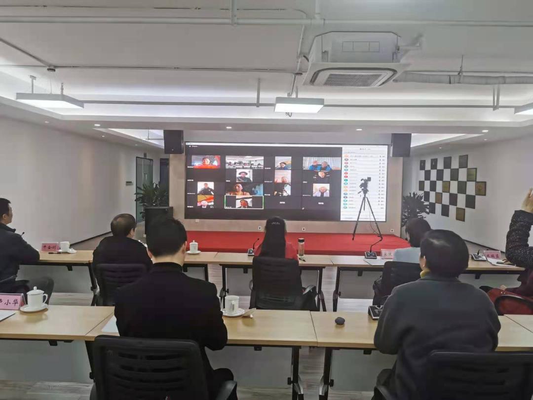 四川省侨联文促会2020年会在蓉举行