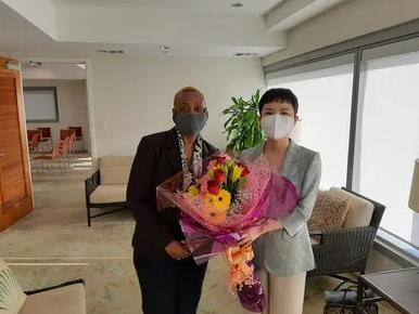 """""""70""""后的戴庆利出任中国驻外大使 系安徽临泉人"""