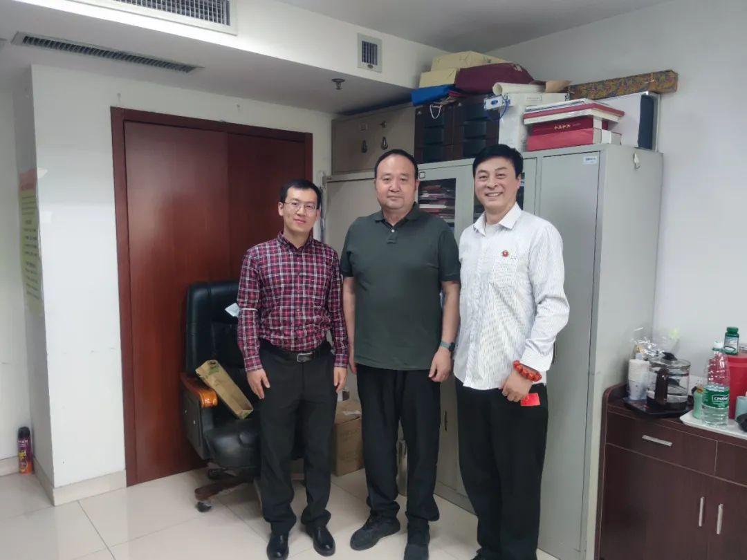 中国侨联刘奇部长会见国际火锅产业联盟副主席毕麦