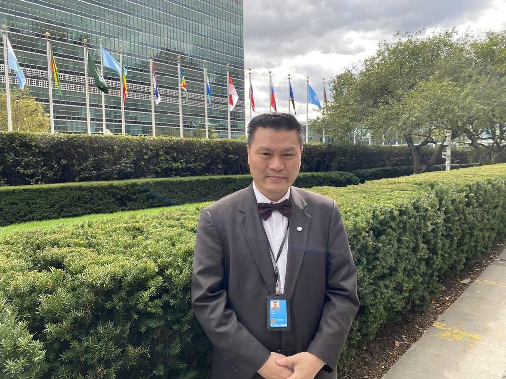 聯合國網合集團舉辦的線上線下紀念辛亥革命110週年大會暨聯合國和平音樂會